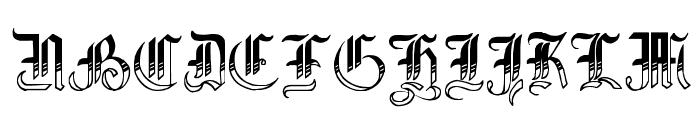 Simplicity No4 Font UPPERCASE