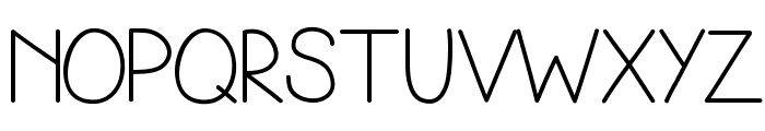 Simplicity Font UPPERCASE