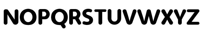 Simply Rounded Font UPPERCASE