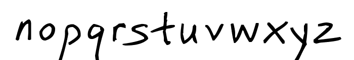 SimplyLin Font LOWERCASE