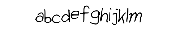 SimplySimple Font LOWERCASE