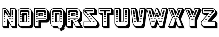 Simson Font UPPERCASE