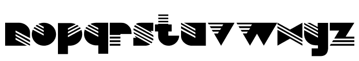 Simulata Font LOWERCASE