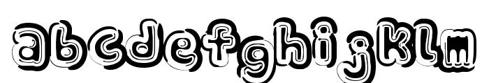 Sin-A-Bon Bold Font LOWERCASE