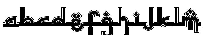 Sinbad the Sailor Regular Font LOWERCASE