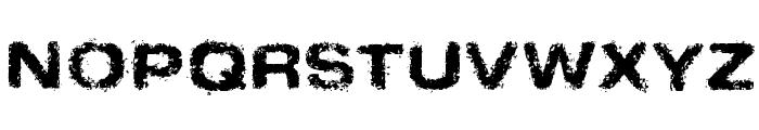 SinderNormal Font UPPERCASE