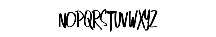SingOut-Regular Font UPPERCASE