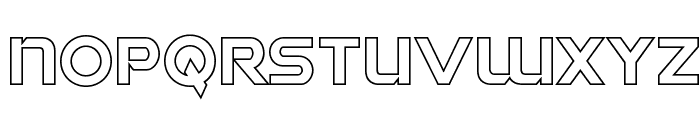 Singapore Sling Outline Font LOWERCASE
