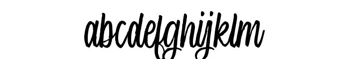 Single Brand Demo Font LOWERCASE