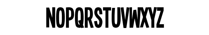 Single Sleeve Font UPPERCASE