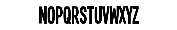 Single Sleeve Font LOWERCASE