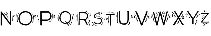 Single Stroke Font LOWERCASE