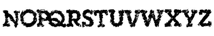 SingleOrigin Font UPPERCASE