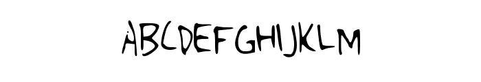 Singularity Font UPPERCASE