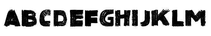 SinisterBlack-Regular Font LOWERCASE
