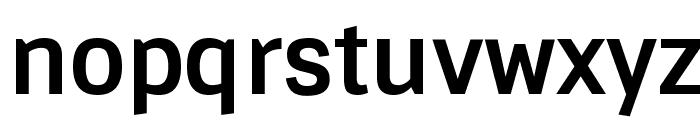 Sintony Bold Font LOWERCASE