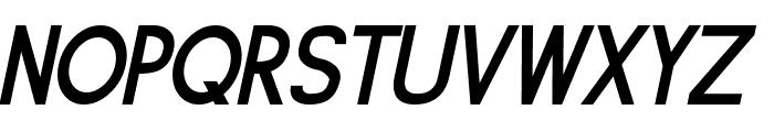 Siple DemiBoldOblique Font UPPERCASE