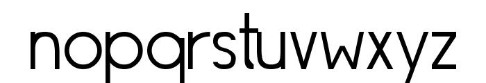 Siple Light Font LOWERCASE