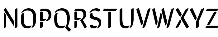 SirinStencil-Regular Font UPPERCASE