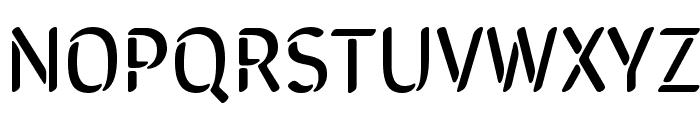 SirinStencil Font UPPERCASE