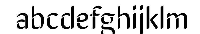 SirinStencil Font LOWERCASE