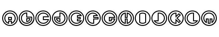 Sirkhular Font UPPERCASE