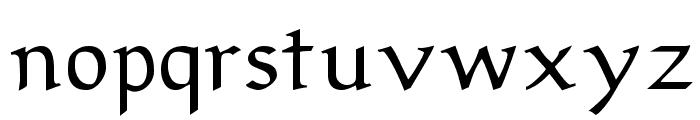 Sirona Font LOWERCASE