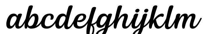 Siry Italic Font LOWERCASE