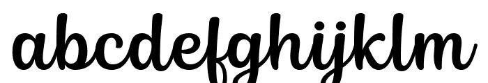 Siry Font LOWERCASE
