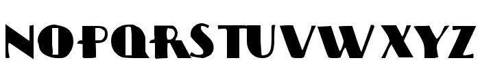 Sissyneck Font UPPERCASE