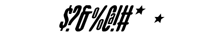 Sister Europe Italic Font OTHER CHARS