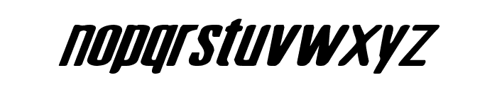 Sister Europe Wide Italic Font LOWERCASE