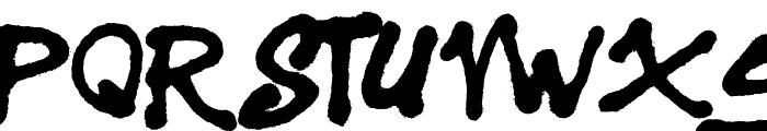 Sister Spray Font UPPERCASE