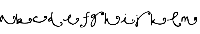 Sisters Font UPPERCASE