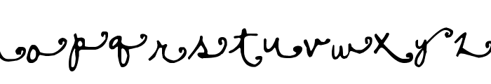 Sisters Font LOWERCASE