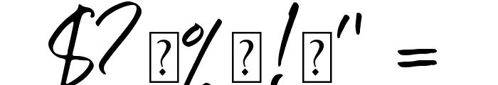 Six Away Font [Demo] Font OTHER CHARS