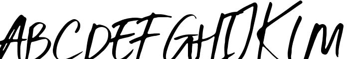 Six Away Font [Demo] Font UPPERCASE