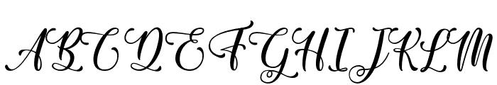 Sixth Babylon - Personal Use Font UPPERCASE