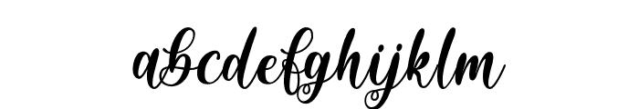 Sixth Babylon - Personal Use Font LOWERCASE