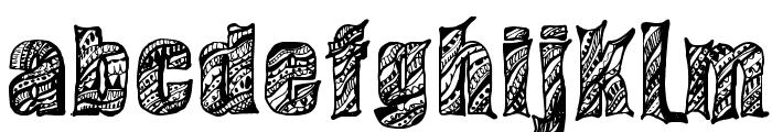 Sixties Regular Font LOWERCASE