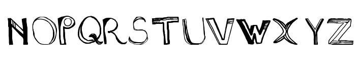 Sixty Four Dollar Question Medium Font UPPERCASE