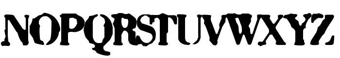 Sixty Font UPPERCASE