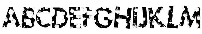 sickfuture Font UPPERCASE