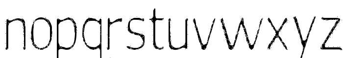silent witness Font LOWERCASE