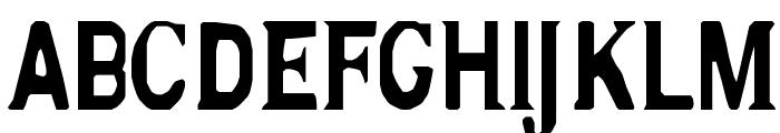 silk Font UPPERCASE