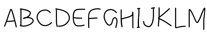 simple Font UPPERCASE
