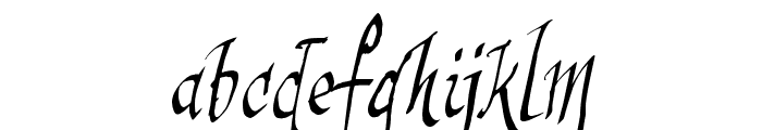 sinisterSam Font LOWERCASE