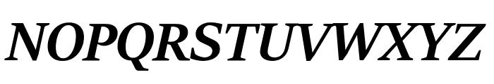 Sitka Banner Bold Italic Font UPPERCASE