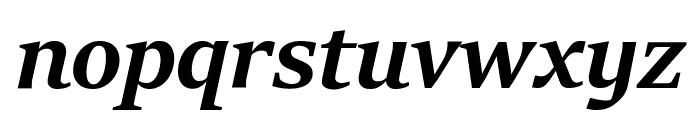 Sitka Banner Bold Italic Font LOWERCASE