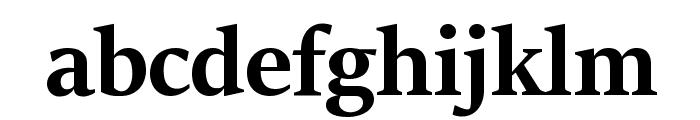 Sitka Banner Bold Font LOWERCASE